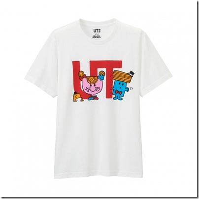 UNIQLO Mr. Men Little Miss UT Graphic T-Shirt man 12