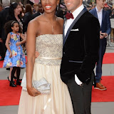 OIC - ENTSIMAGES.COM - Beverley Knight and  James O'Keefe at the The Olivier Awards in London 12th April 2015  Photo Mobis Photos/OIC 0203 174 1069