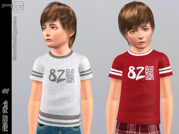 Camisetas niño (R2M Kids)