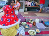 Bubur Ayam di Alun-alun Rembang