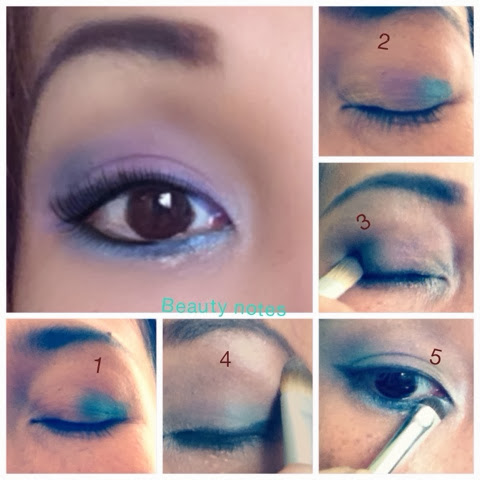 Yenyen Beauty Notes Sexy Purple Deep Blue Eyeshadow Tutorial