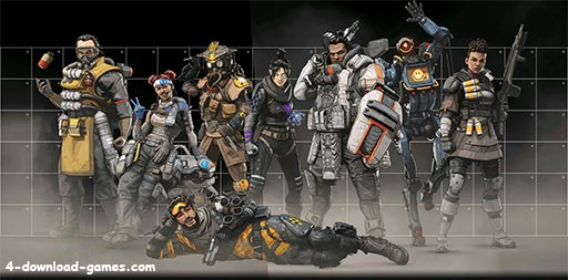 اساطير لعبة Apex Legends