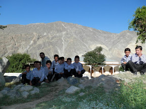 Local kids of Jutal, Gilgit