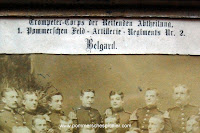 Trompeter-Corps der Reintenden Abtheilung 1. Pommerschen Feld-Artillerie-Regiments Nr.2 Belgard
