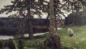 Озеро, 1902
