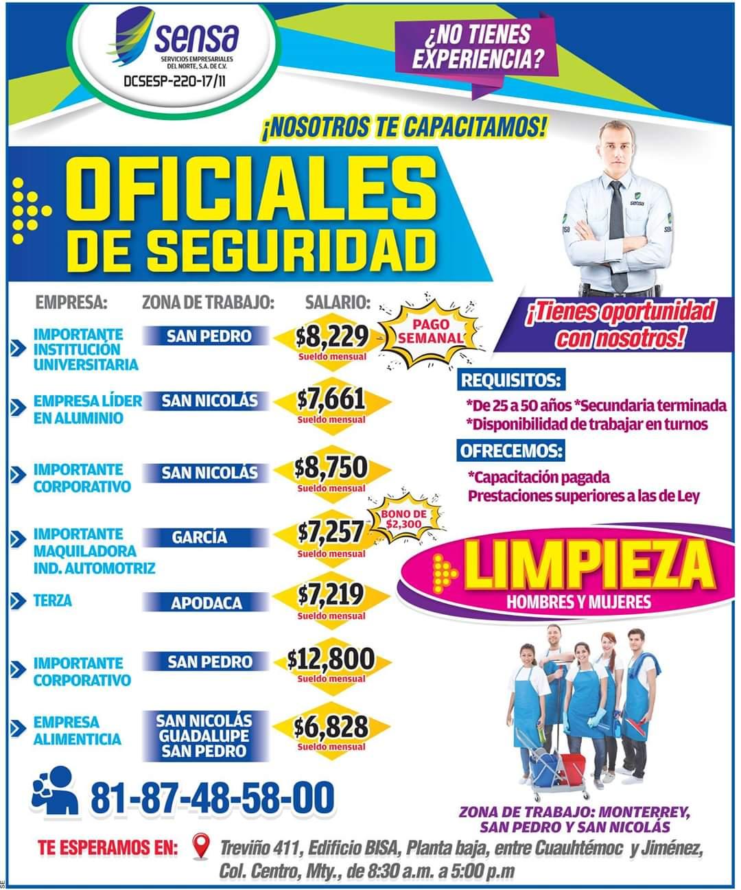 14+ Vacante De Trabajo De Limpieza En Monterrey Background