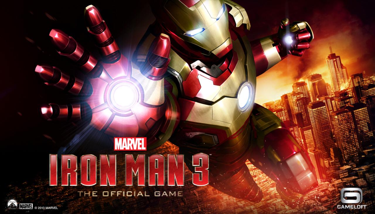 Iron Man 3 được Gameloft phát hành miễn phí 1