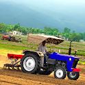 Tractor Trolley Simulator Offroad Village Drive icon