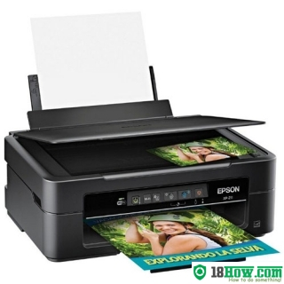 How to reset flashing lights for Epson XP-211 printer