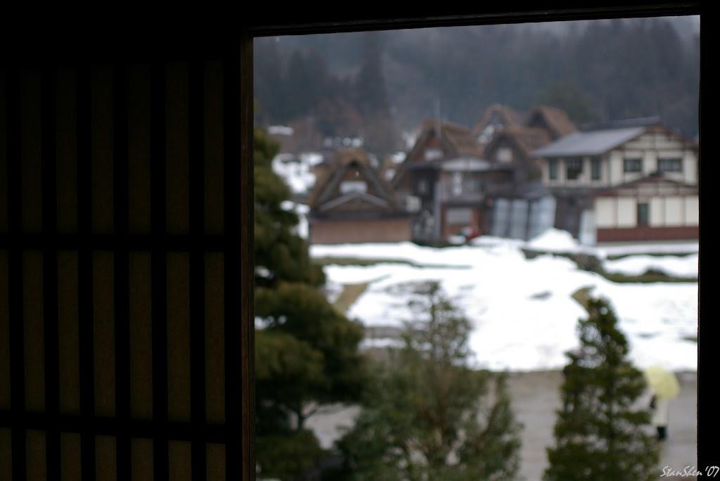 殘雪.潑墨.合掌村