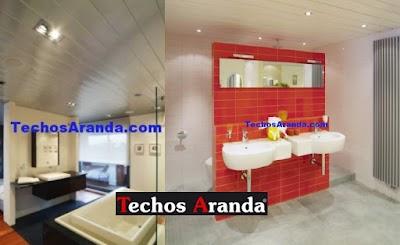 Imagen de techo de aluminio para baño Madrid