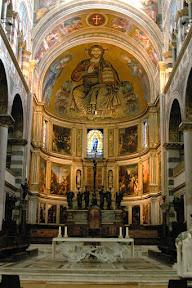 Duomo interior, Pisa