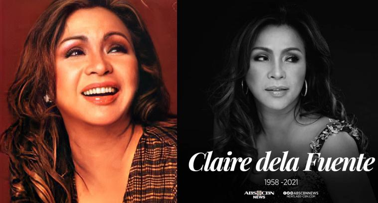 OPM Icon na si Claire Dela Fuente pumanaw na dahil sa Cardiac Arrest