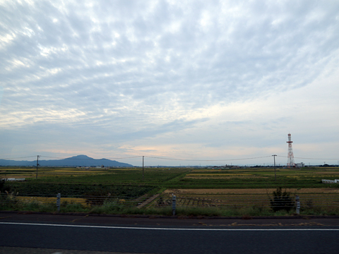 名鉄バス「名古屋~新潟線」 2801 車窓 その1