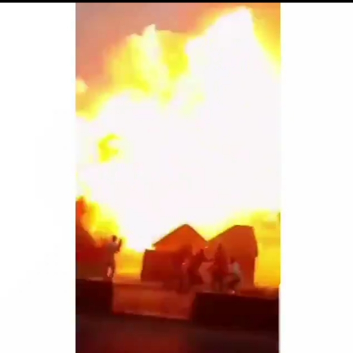 Gas Explosion At Agbor, Delta State