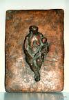 Mutter mit KInd, Bronze 1979