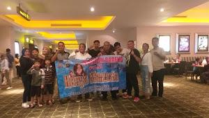Keluarga Besar Polsek Neglasari, Nonton Bareng Film 'Hanya Manusia'
