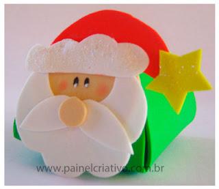 Lembrancinha em Eva Papai Noel