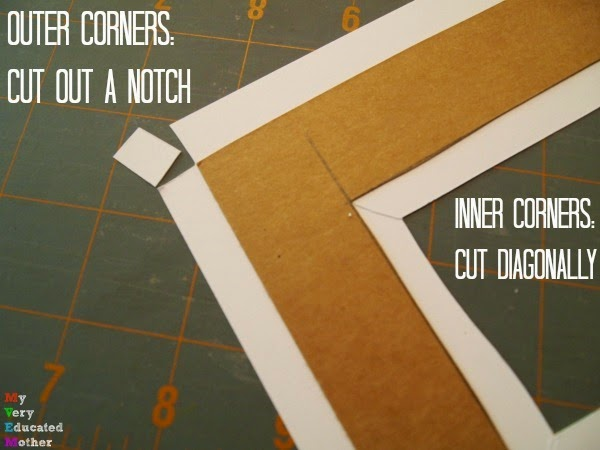 Quick tip on how to cut your corners!