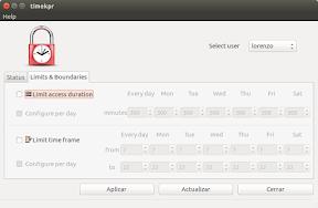 Gestionar y controlar el uso del ordenador en Ubuntu - timekpr 2