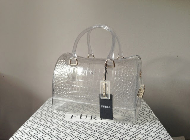 Sammi Jackson - Furla Clear Candy Bag