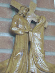 Station of the Cross inside the Chapel:   IV: Jesus meets His Blessed Mother