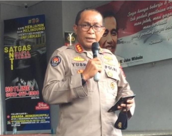 Polisi Tegaskan MRS Ditahan Karena Kasus Penghasutan, Bukan Kerumunan