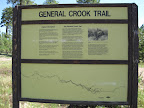 Paseo del Lobo followed the General Crook Trail from Section 18 to 25 (Photo by E. Nelson)
