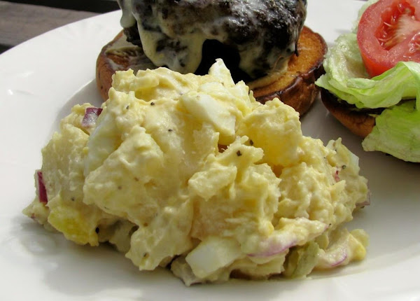 Mom's Dill Potato Salad Recipe
