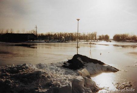 April  1997 flood photo