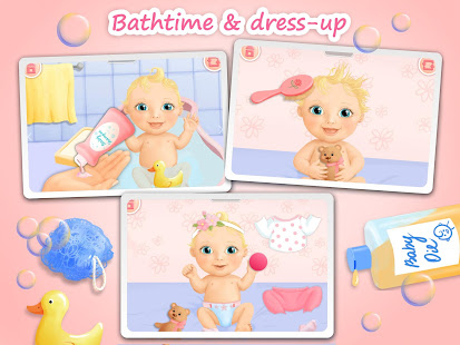 Game Sweet Baby Girl - Dream House and Play Time APK for Windows Phone