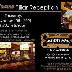 Pillar Reception at Morton