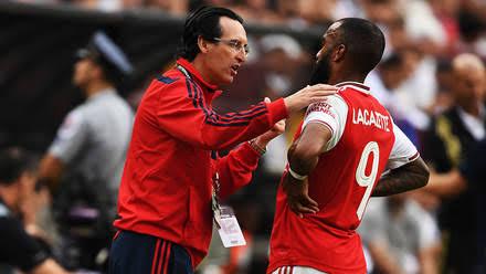 Arsenal fans warns Unai Emery, Elneny send message to Arsenal fans after loan move