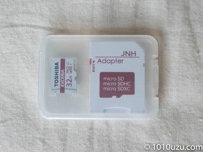 東芝のmicroSDカード32GB