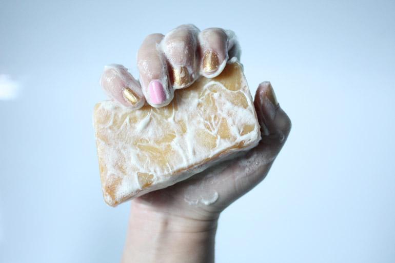 lush soap sexy peel