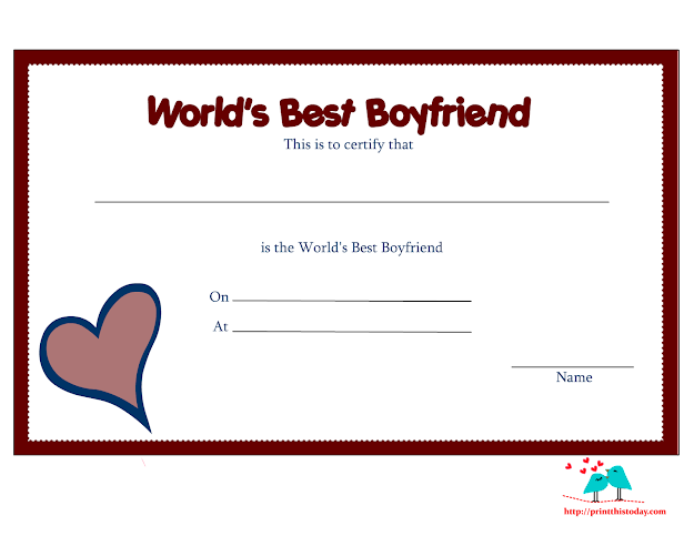 Love You Coloring Pages For Boyfriend  Funky Love Certificate For  Boyfriend