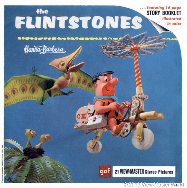 View-Master The Flintstones (B514) Packet Cover