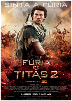 Fúria de Titãs 2   BDRip AVI Dual Audio + RMVB Dublado