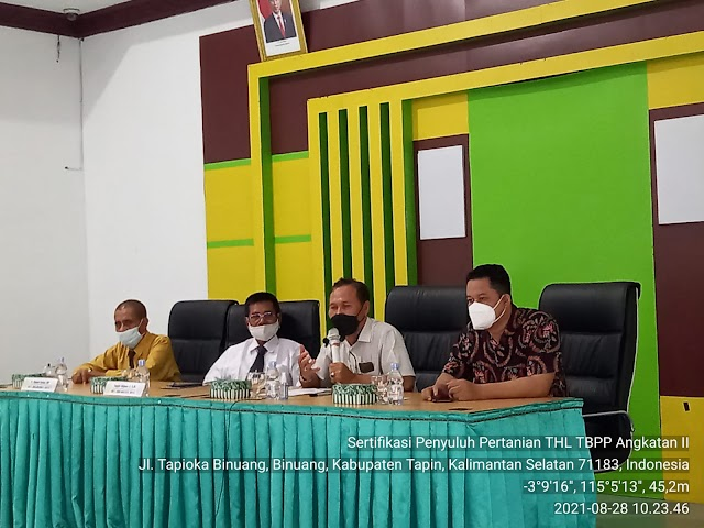 BPPSDMP Kementan Sukses Antar THL TBPP Regional Kalimantan Menuju PPPK