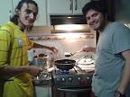 Haciendo empanadas