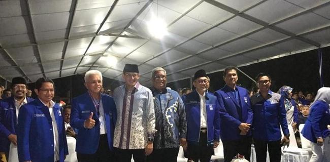 Sandiaga Uno Hadir di Kongres V PAN, Pengamat: Sedang Cari Perahu Lain Untuk 2024