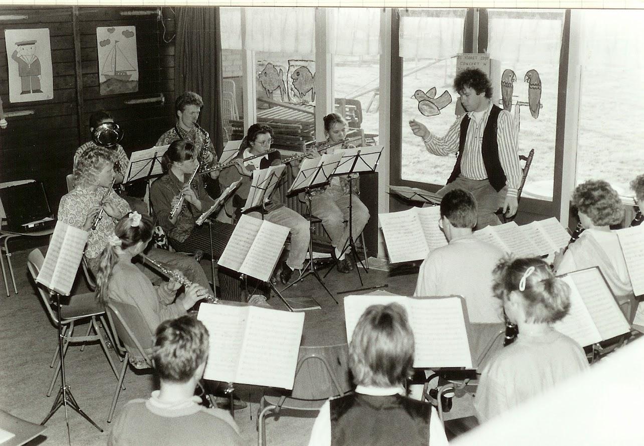 Leerlingenorkest in 1988