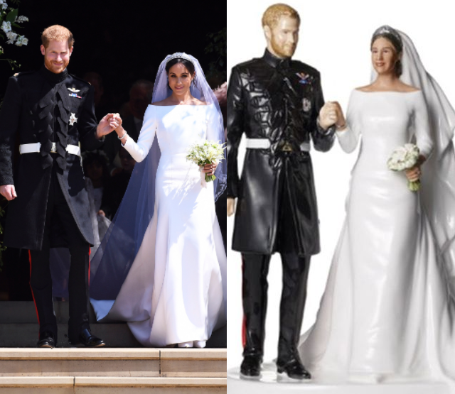 Price of Meghan Markle and Prince Harry's figurine slashed after it fails to sell to Brits