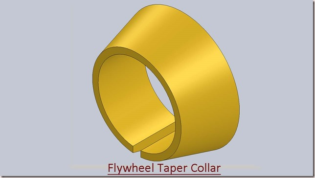Flywheel Taper Collar