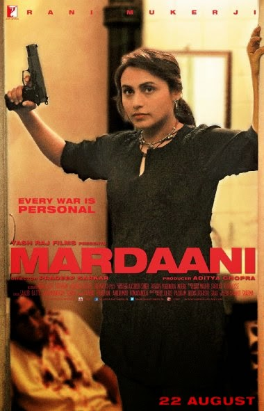 Poster Of Hindi Movie Mardaani (2014) Free Download Full New Hindi Movie Watch Online At alldownloads4u.com