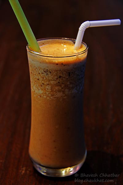 Thai Iced Tea at Frisco, Koregaon Park, Pune