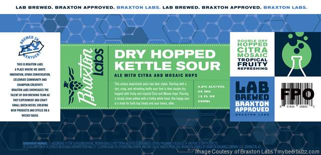 Braxton Labs Adding Dry Hopped Kettle Sour Cans