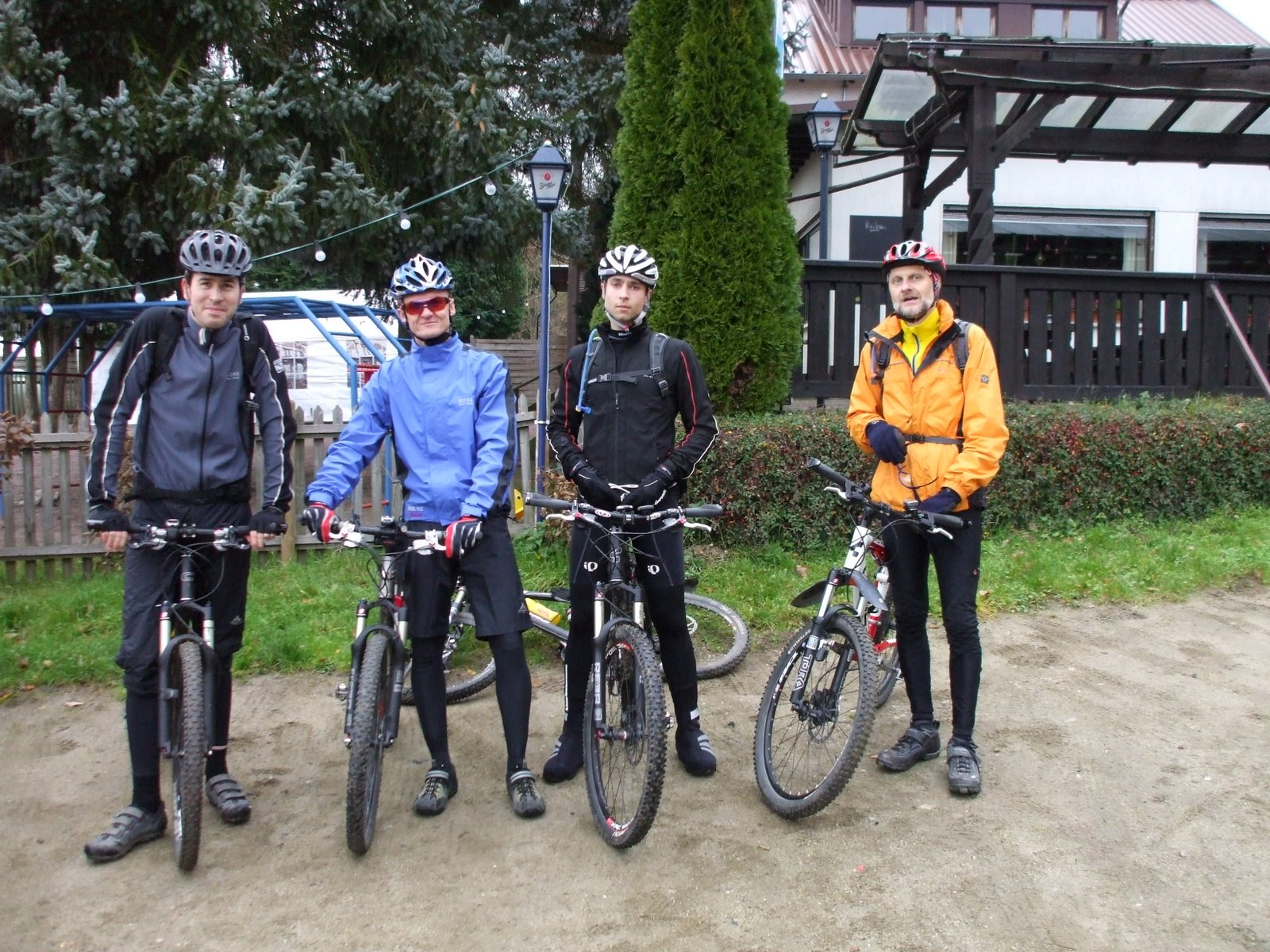 Spessart-Biker Tour am 16.11.2008