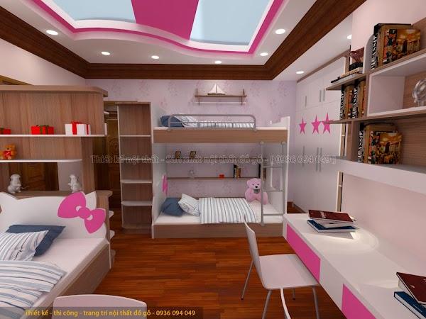Tư vấn thiết kế phòng ngủ đẹp cho con