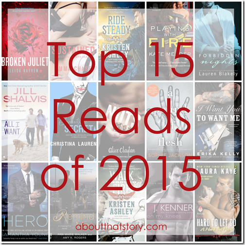 Top 15 Reads of 2015 from About That Story